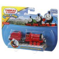 Fisher Price - Thomas Et Ses Amis - Take-n-play - Mike - Locomotive Miniature F-cgt11