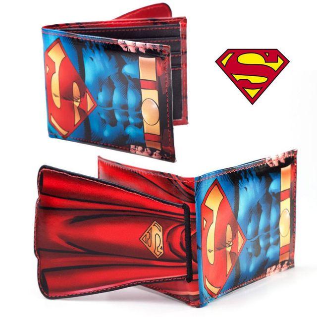 Kas Design Portefeuille Superman avec Cape