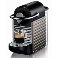 KRUPS - Cafetière à dosettes Pixie Titanium XN3005