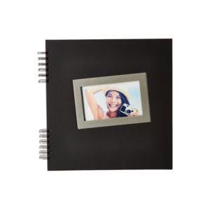 Ceanothe - Album Photo Tais 60 Pages Traditionnel Noir 30 x 30 cm 0cm x 0cm