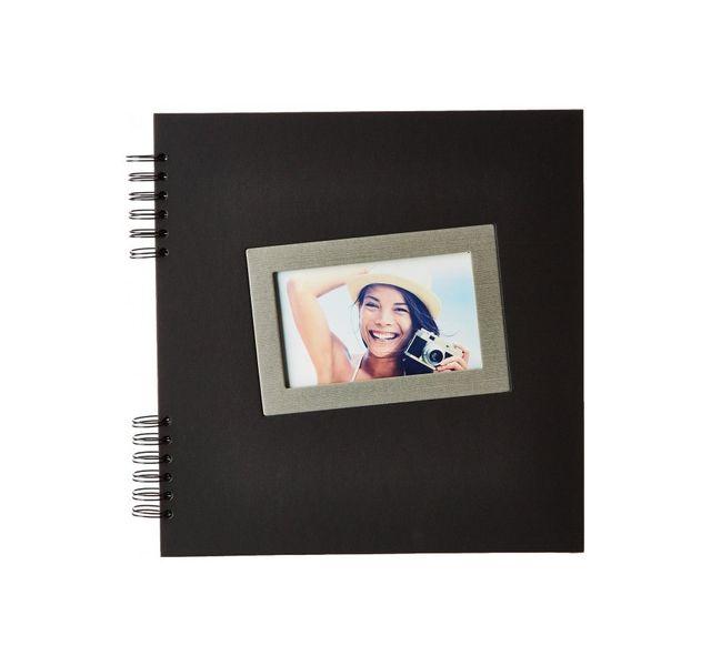 Ceanothe - Album Photo Tais 60 Pages Traditionnel Noir 30 x 30 cm