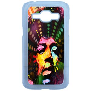 Lapinette - Coque Rigide Jimmy Hendrix Pour Samsung Galaxy J1