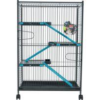 Zolux - Cage Indoor Max Loft 1 Bleu