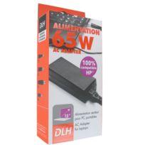 Dlh - Alimentation Secteur Hp 100% Compatible. Regular 65W