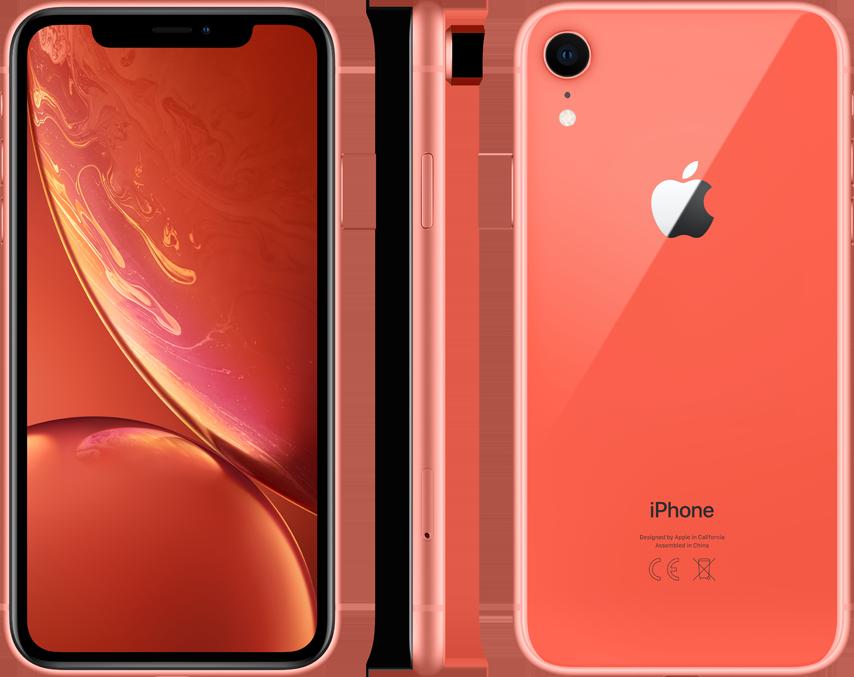 iPhone XR 128 Go Apple Corail=