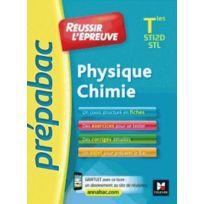Foucher - Prepabac ; réussir l'épreuve ; physique-chimie ; terminale St2D/STL