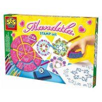 Ses Creative - Kit de tampons Mandala