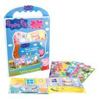 Lansay - Peppa Pig - Scénettes et Gommettes Peppa Pig