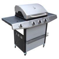 CONCEPT USINE - Acoma : Barbecue à gaz 3 brûleurs + 1 brûleur lateral