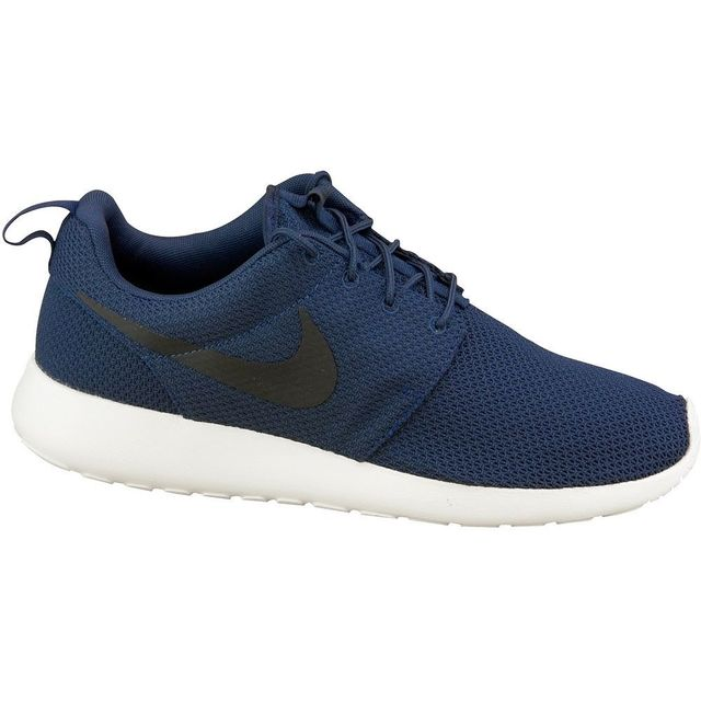 Nike Roshe One 511881 405 Homme Baskets Bleu pas cher