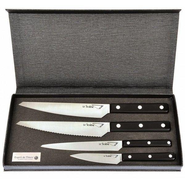 Aunain Coffret 4 couteaux de cuisine Scalène Au Nain