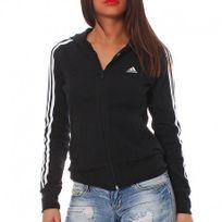 Adidas originals - Veste à capuche Ess 3S Hood Noir Entrainement Femme Adidas
