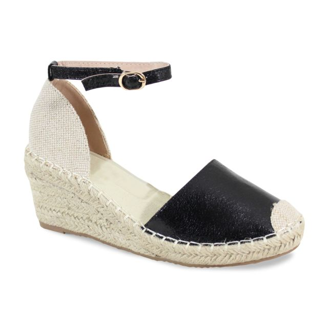 Alistair By Shoes Espadrille à Plateforme - Femme - 41 Noir