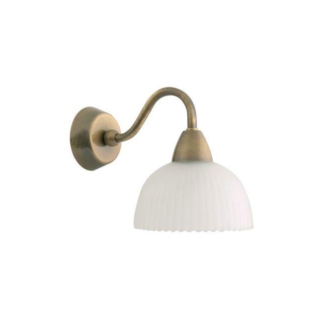 concept verre applique salle de bain laiton carla classe 2 ip 24 dor pas cher achat. Black Bedroom Furniture Sets. Home Design Ideas
