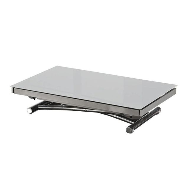 Inside 75 Table basse Jump extensible relevable grise
