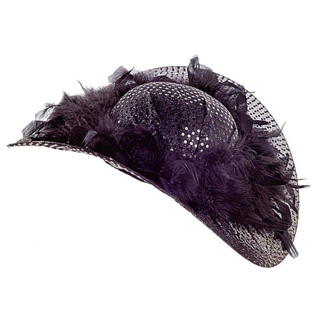 Widman - Chapeau Paillette Noir Femme - pas cher Achat   Vente ... 6e72b7daf1a