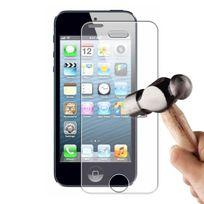 Evetane - Vitre protectrice avant verre trempé iPhone 5/5S/5C