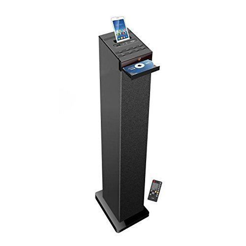 INOVALLEY Tour de son lecteur CD Bluetooth HP32-CD Noir Bluetooth - 4x15w - Lecteur CD - Télécommande - écran led - Radio FM - Carte SD - Port USBBluetooth - 4x15w - Lecteur CD - Télécommande - écran led - R