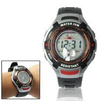 Wewoo - Montre sport électronique et à quartz étanche avec réveil chronomètre et rétroéclairage