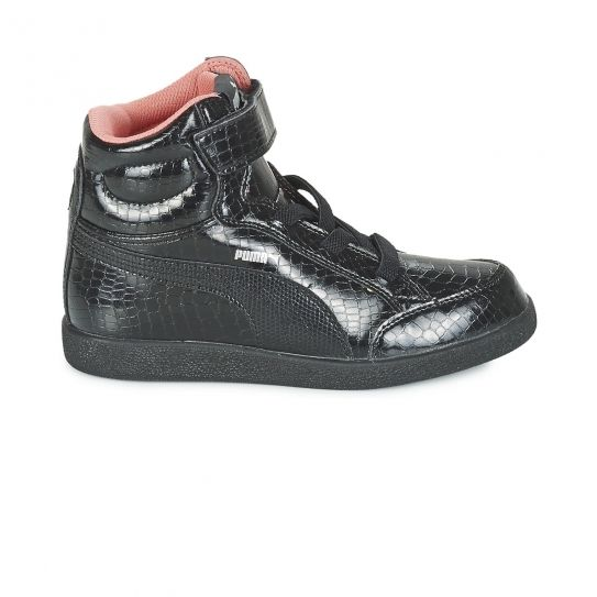 5a999a3ecee Puma - Chaussures Ikaz Mid Black Bb - pas cher Achat   Vente Baskets enfant  - RueDuCommerce