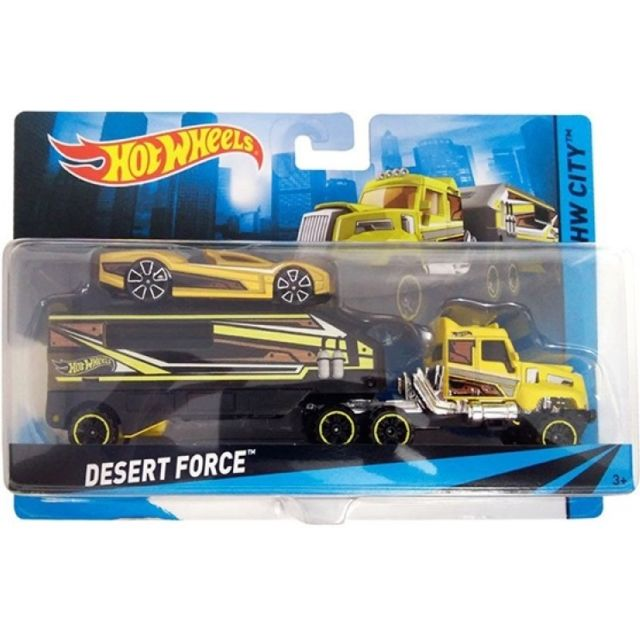NoirVoiture Camion Desert Jaune Wheels Et Hot Force Mattel hrxtQdCBos