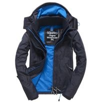 - Tech Fooded Pop Zip Windcheater Blouson No Name