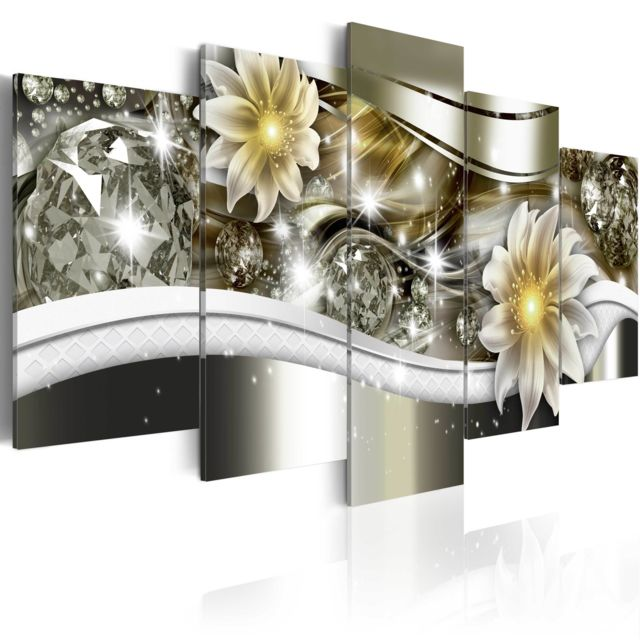 Declina Tableau - Vague florale