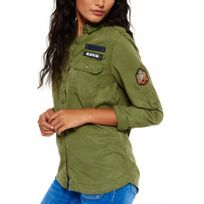Superdry - Chemise Military Shirt nc