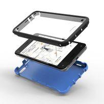 Armor-x - Coque Rugged Galaxy A7 coloris bleu protection intégrale avec écran