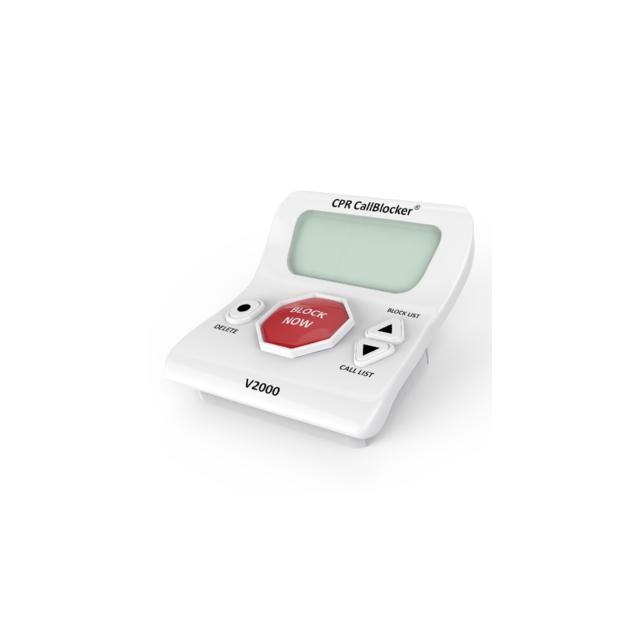 Cpr Call Blocker - Bloqueur d'appels V2000 Blanc