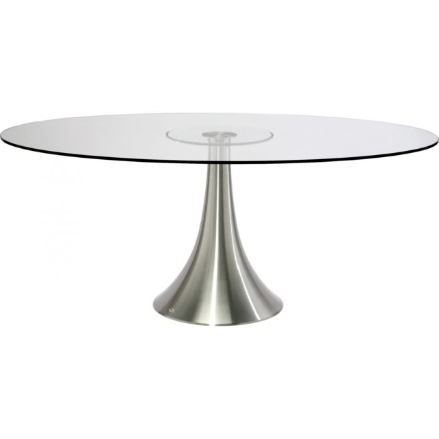 Karedesign Table Ovale Verre Grande Possibilita 180 cm Kare Design