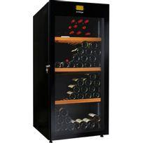 Avintage - Cave à vin multi-usages - Multi-Températures - 178 bouteilles - Noir Aci-avi432 - Pose libre