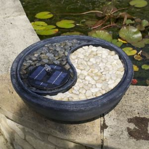Smart solar fontaine solaire ying yang pas cher achat - Fontaine solaire pas cher ...