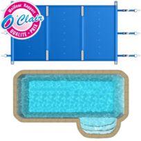 Piscine Center O'CLAIR - Bâche à barres Pool-Barres Plus rectangle pour piscine coque Piscine Provence Polyester Big-Pool Espace B