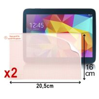 Karylax - Pack de 2 Films de Protection d'Ecran à découper dimmensions 20,5cm x 16cm Films Transparents Universel S pour Tablette Tactile Huawei Honor Pad 2