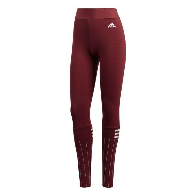 fb4158ed9afa2 Adidas - Collant tight femme Sport Id Printed - pas cher Achat   Vente  Pantalons, caleçons - RueDuCommerce