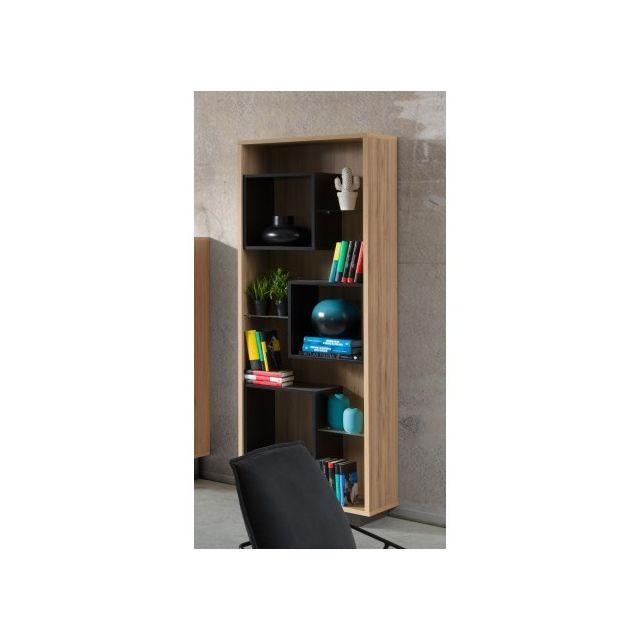Price factory bar vitrine biblioth que solo design id al pour votre salon ou salle for Bibliotheque pour salon
