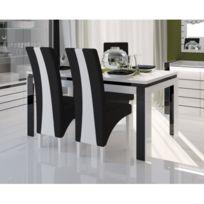 Price Factory   Table 180 Cm + 6 Chaises Lina. Table Pour Salle à Manger