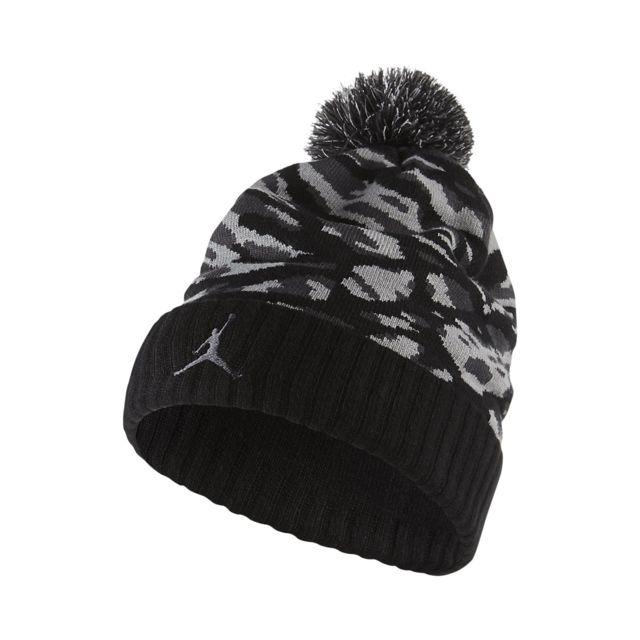 Jordan - Bonnet Pom Camo - 686937-010 - pas cher Achat   Vente Casquettes,  bonnets, chapeaux - RueDuCommerce 1c5950f03e7