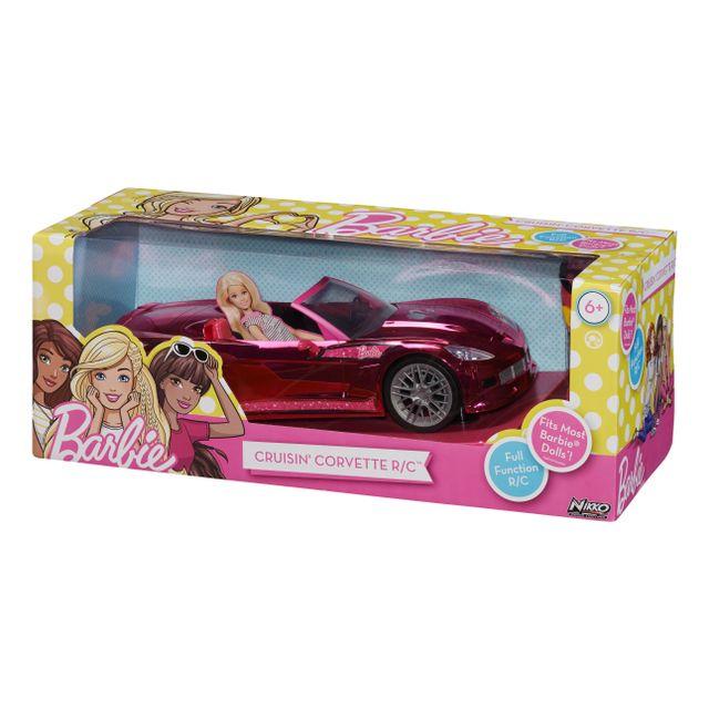 barbie voiture radiocommand e cruisin 39 corvette pas cher achat vente voitures rc. Black Bedroom Furniture Sets. Home Design Ideas