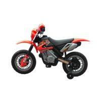 Destockoutils - Moto électrique enfant 6V Rouge