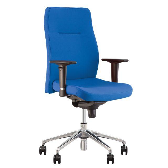design de qualité 5178d 34128 Orlando- Fauteuil, Chaise De Bureau Synchrone, Ergonomique. Bleu