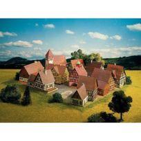 Schreiber-bogen - Maquette en carton : Village avec ses maisons à colombages, Allemagne