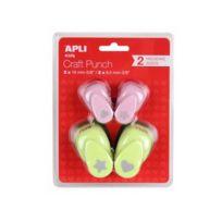 Apli Agipa - Pack 4 Perforatrices Decor