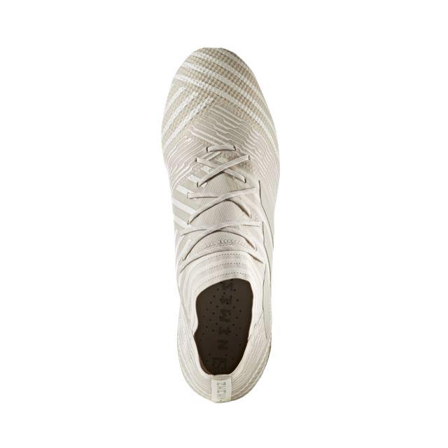 Adidas performance - Chaussures football Adidas Nemeziz 17.1 Fg Beige Marron - 45 1/3