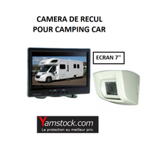 Antarion - Pack Camera de recul Abs pour camping car écran 7