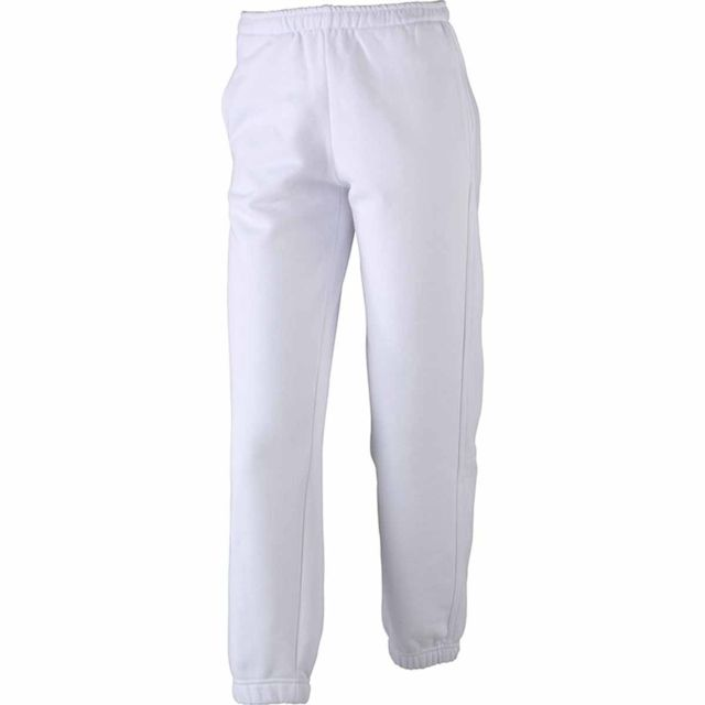 df1590aa95e James   Nicholson - Pantalon jogging femme - Jn035 - blanc - pas ...