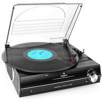 AUNA - 928 Platine vinyle Haut-parleurs intégrés