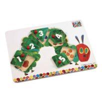 Les comptoirs des manufactures - Hungry Caterpillar Cheville En Bois Puzzle