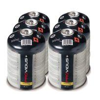 Providus - Pack de 6 cartouche gaz 425g butane propane mix - bouteille de gaz à valve 770 ml - bonbonne camping grande autonomie